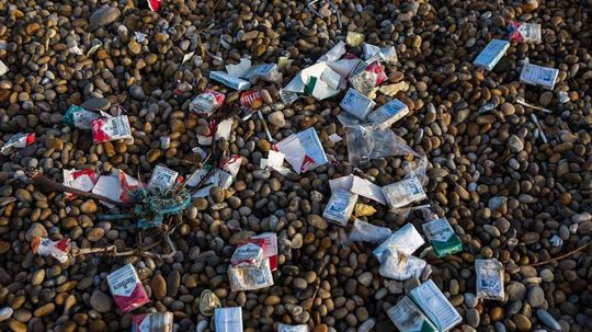What Happens to the Billions of Cigarette Butts on the Beach?