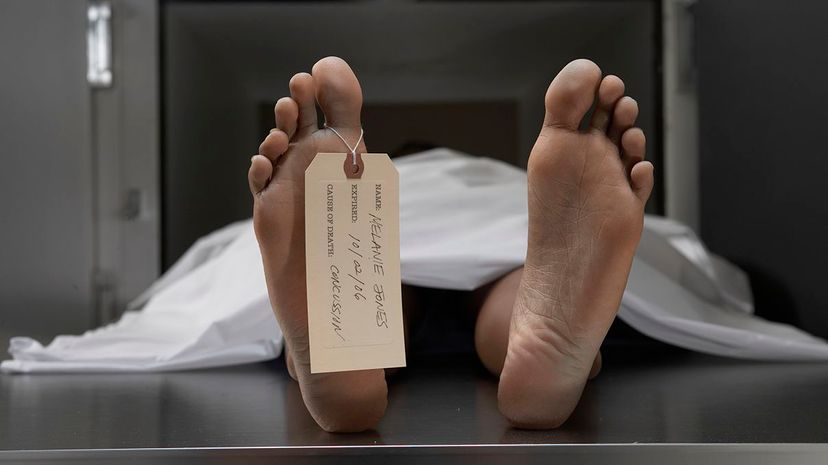 People with Cotard's syndrome believe they're dead and often long to be near corpses. Darrin Klimek/DigitalVision/Thinkstock
