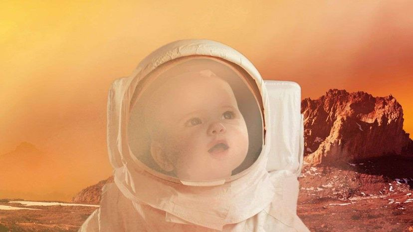 Hey baby, it may be a while before the red planet becomes your off-world playground. David Birkbeck/Image Source/fStop Images/Getty Images