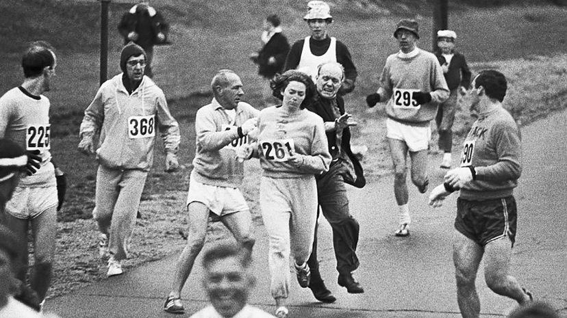 1967 boston marathon, kathrine switzer
