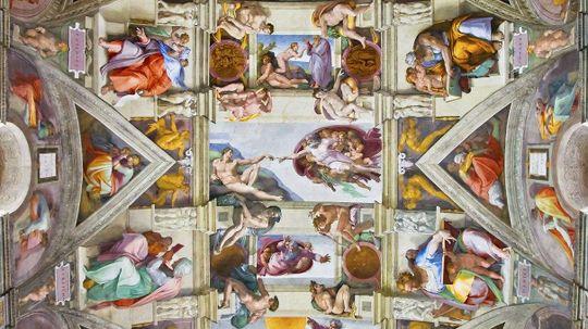 Sistine Chapel Art Hides Secret Female Anatomy Symbols, Claims New Analysis