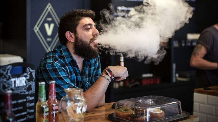 Two new studies look at the effect of e-cigarette use. Dan Kitwood/Getty Images