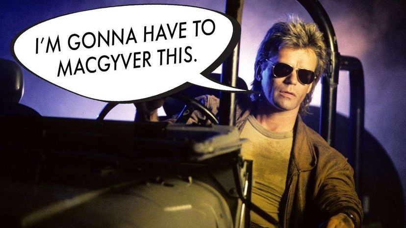 """Respect at long last: The verb """"MacGyver"""" made it into the Oxford Dictionaries in 2015. ABC Photo Archives/ABC via Getty Images"""