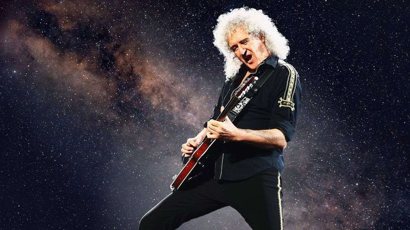 Queen guitarist Brian May also has a doctorate in astrophysics. Don Arnold/WireImage/Rastan/iStock