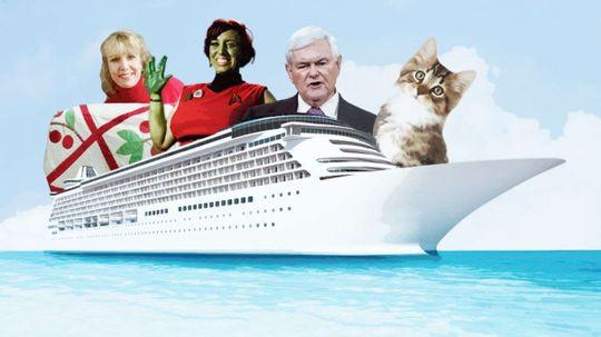 6 Crazy Theme Cruises