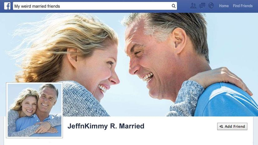 With a joint Facebook account, readers never know who's doing what. Tetmc/Thinkstock