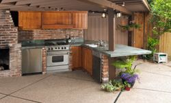 Be the head chef of your backyard with a killer outdoor kitchen.