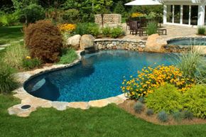 Your backyard pool doesn't have to be an eyesore. Make it a pleasant part of your landscape.