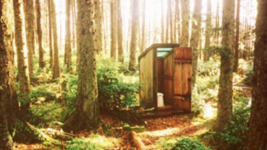 How to Build an Outhouse with a Composting Bucket Toilet