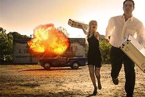 Running away from a fire is not as simple as it looks in the movies.