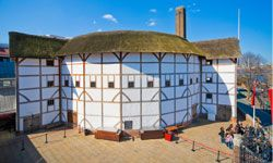 Turn your trip into an appreciation of Shakespeare.