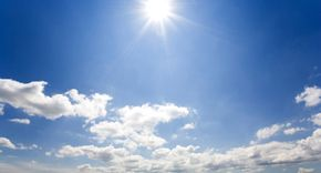 The ozone layer is miles above us but protects us from most of the sun's harmful ultraviolet rays.
