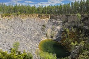 Skeptics commonly claim the Money Pit is nothing more than a naturally occurring sinkhole.