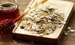 Oatmeal as a cleansing treatment.