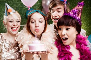 If no one else is volunteering, it's fine to throw your own birthday party. Just don't expect your guests to pay for it.