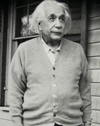 Albert Einstein's explanation for fluctuations in the time-space continuum was chosen based on the tenets of Occam's razor.