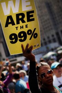 Occupy Wall Street is a leaderless, populist-oriented movement.