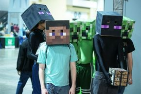 """Fans of """"Minecraft"""" will be happy to know that a VR-adaptation of the game, titled """"Minecrift,"""" is available for download on the Oculus Rift site."""