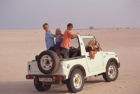 All-terrain vehicles can handle a variety of surfaces with ease. See more off-roading pictures.