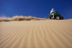 Today's ATVs can be quite powerful, but the rider has to be able to handle that power.