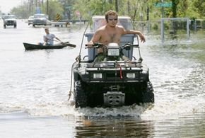 A variety of ATV accessories can help make this rough ride easier.