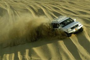 Off-Roading Image Gallery Driving on paved roads might be a snooze after climbing the sand dunes in the Wonder Desert of the United Arab Emirates. See more off-roading pictures.