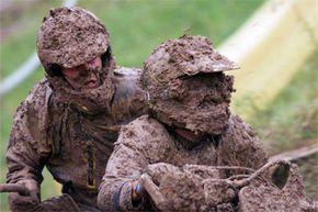 If you're brave enough, you could always go mudding on a bike. Just prepare to get really, really dirty.