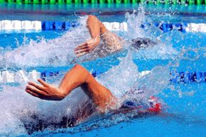 The off-season might be a good time to improve your swim stroke.