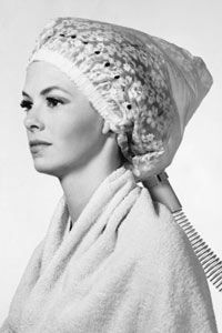 In the mid-20th century shampooing was a weekly endeavor left to hairdressers.