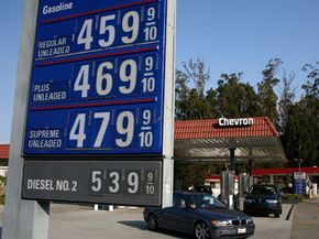 U.S. gas prices rose to record highs in July 2008. In the aftermath, it appears speculators are to blame. See more pictures of the 2008 recession.