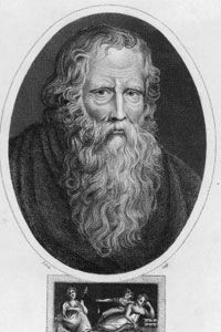 Old Tom Parr, who is believed to have lived to age 152, circa 1600.