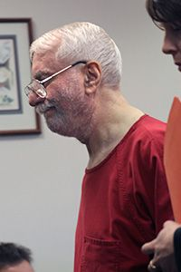 Jack Daniel McCullough, accused of the 1957 abduction and murder of Maria Ridulph appears in King County Superior Court in Seattle, Washington in 2011 to waive his right to an extradition hearing.