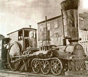 Railroaders were practical men. But some antebellum locomotives, like this 6-2-0 built by the Camden & Amboy, were spectacular oddities as well as miserable failures.