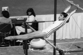 Romanian gymnast Nadia Comaneci was the star of the Montreal Olympics, as the first person to receive a perfect score of 10 in an Olympic gymnastic event.