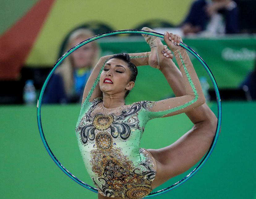 Varvara Filiou of Greece, Rhythmic Gymnastics