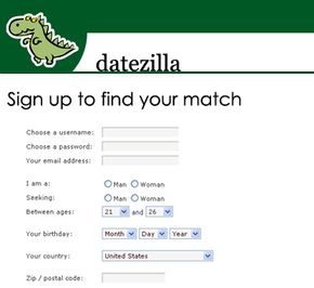 An online dating profile is what presents you to potential dates. When you first sign up, you fill out some basic profile information.