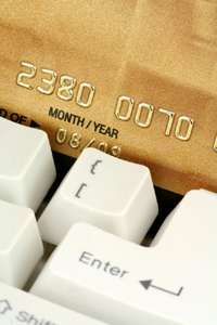 Online thieves look for credit card information.