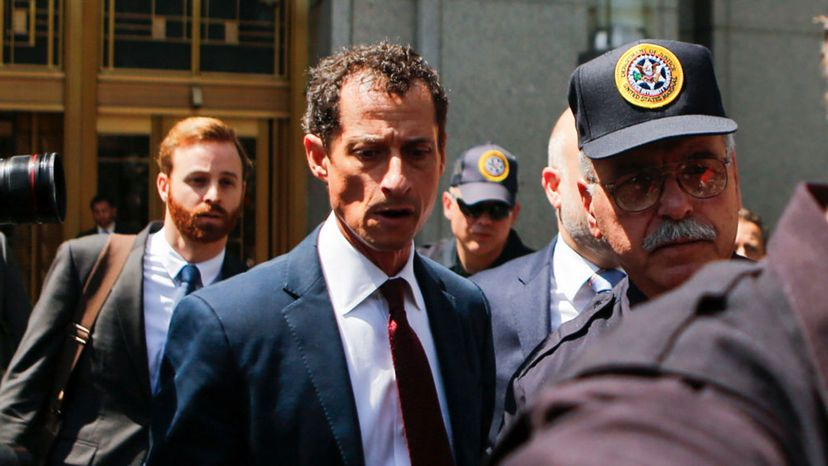 Anthony Weiner, fedeal court