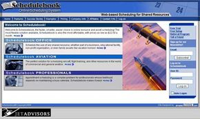 Schedulebook offers several options in online scheduling services.