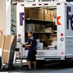 Check with your boss to see if gifts can be shipped to your office to keep family members' prying eyes off them.