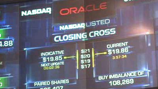 How NASDAQ's Opening and Closing Cross Works