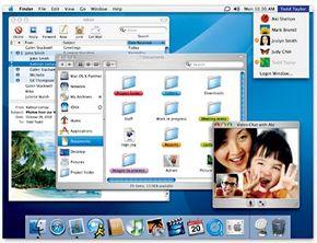 Mac OS X Panther screen shot
