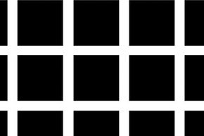 The Hermann Grid was first reported by Ludimar Hermann in 1870  and concerned the phenomenon of gray blobs appearing at the intersection of black and white squares.