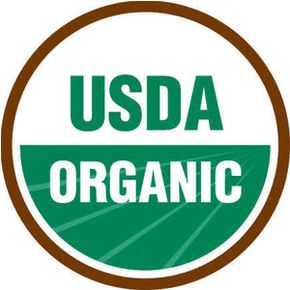 Look for the USDA certification on organic foods.