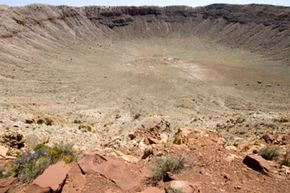 Meteorites bring destruction from the sky, and, possibly, microbial life.