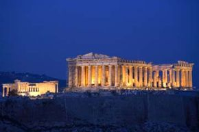 The Parthenon in Athens, Greece. The Greeks are often credited with formalizing the idea of democracy. See more pictures of the Parthenon.