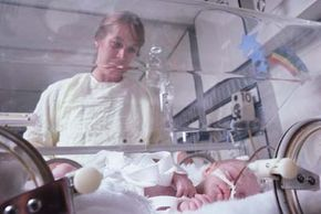 Newborns can suffer greatly from infectious diseases in the mother.