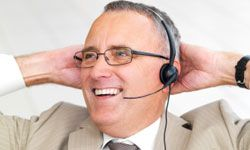 A headset could make at-home customer service even more convenient.