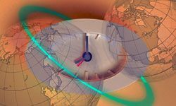 Atomic clocks around the world are reset periodically to be sure they keep perfect time with the planet.