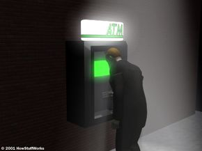 It's important to use a well-lit, public ATM machine at night.